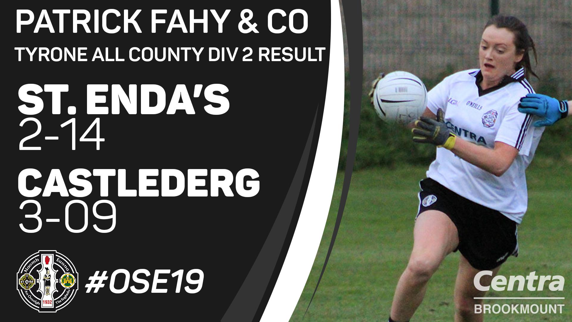 Match Report – Senior Ladies v Castlederg