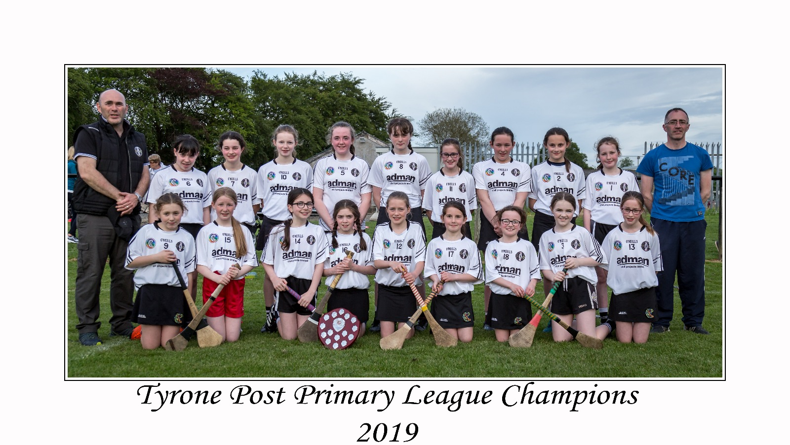 Post Primary Camogie – Tyrone League Champions 2019