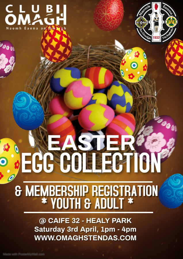 Easter Egg Collections & Registration 2021