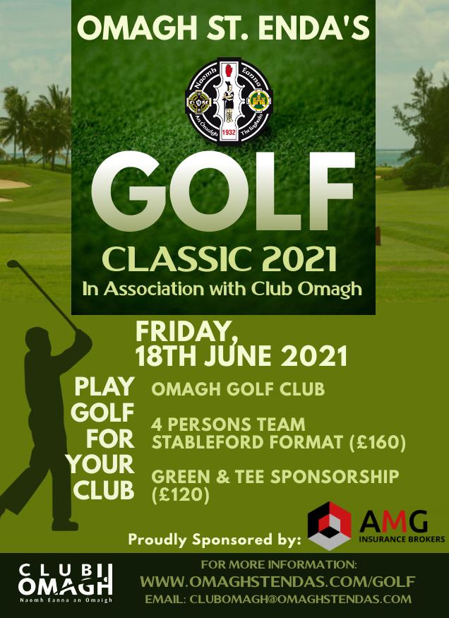Omagh St Enda's Golf Classic 2021