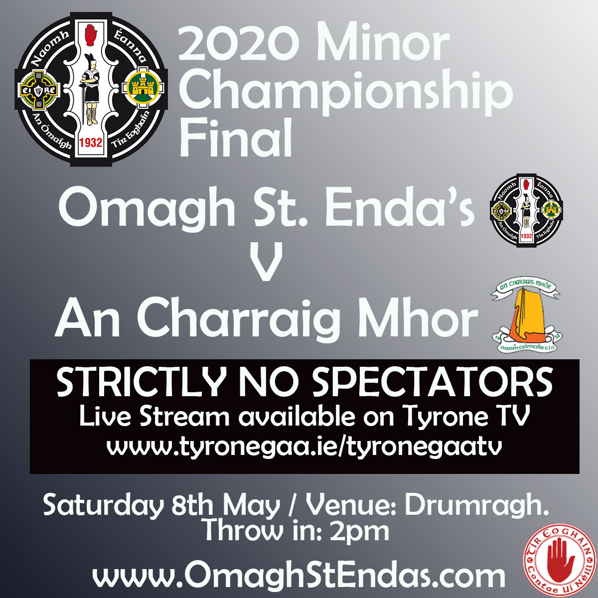 Minor Football Final this Saturday